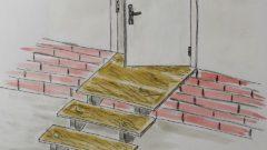 Treppen vor Türen