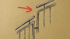 Handlaufunterbrechung bei Geländern