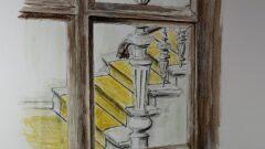 Sketchtime - Blick ins Treppenhaus