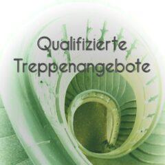 Qualifizierte Treppenangebote